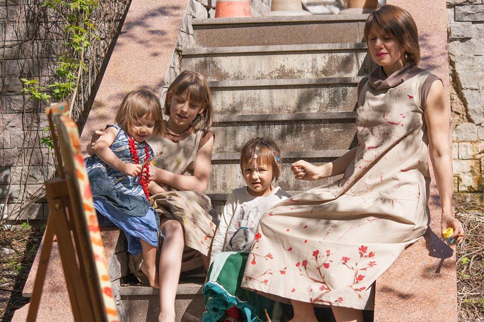 Три дочки - маленькие музы и большая ответственность.