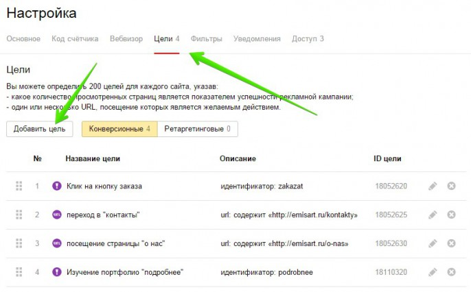 vebvisor_nasyroyka_celey